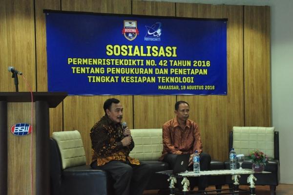 LPPM Unibos Sosialisasi TKT Bersama Dewan Pakar Dikti