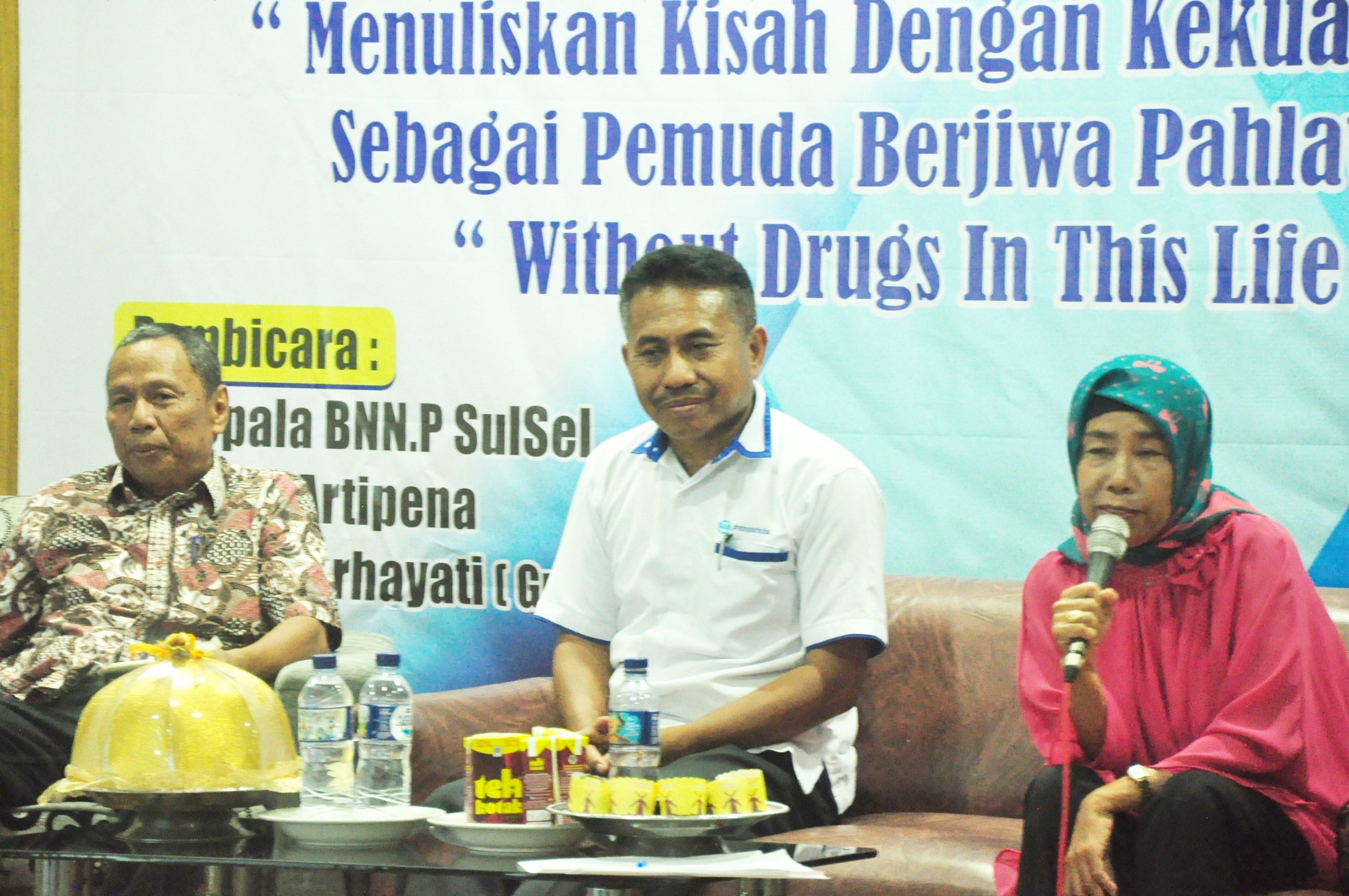 INDONESIA TANPA NARKOBA MENJADI TEMA SEMINAR NASIONAL UKM UNIBOS PERINGATI HARI PAHLAWAN
