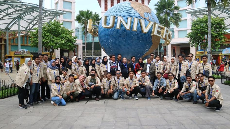 Mahasiswa PWK Unibos Study Tour Malaysia Singapura