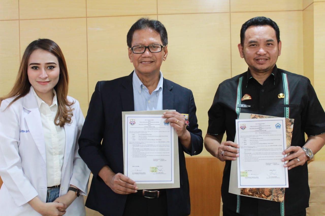Dekan FK Unibos Tandatangani Kesepahaman Kerjasama RSUD Anwar Makkatutu