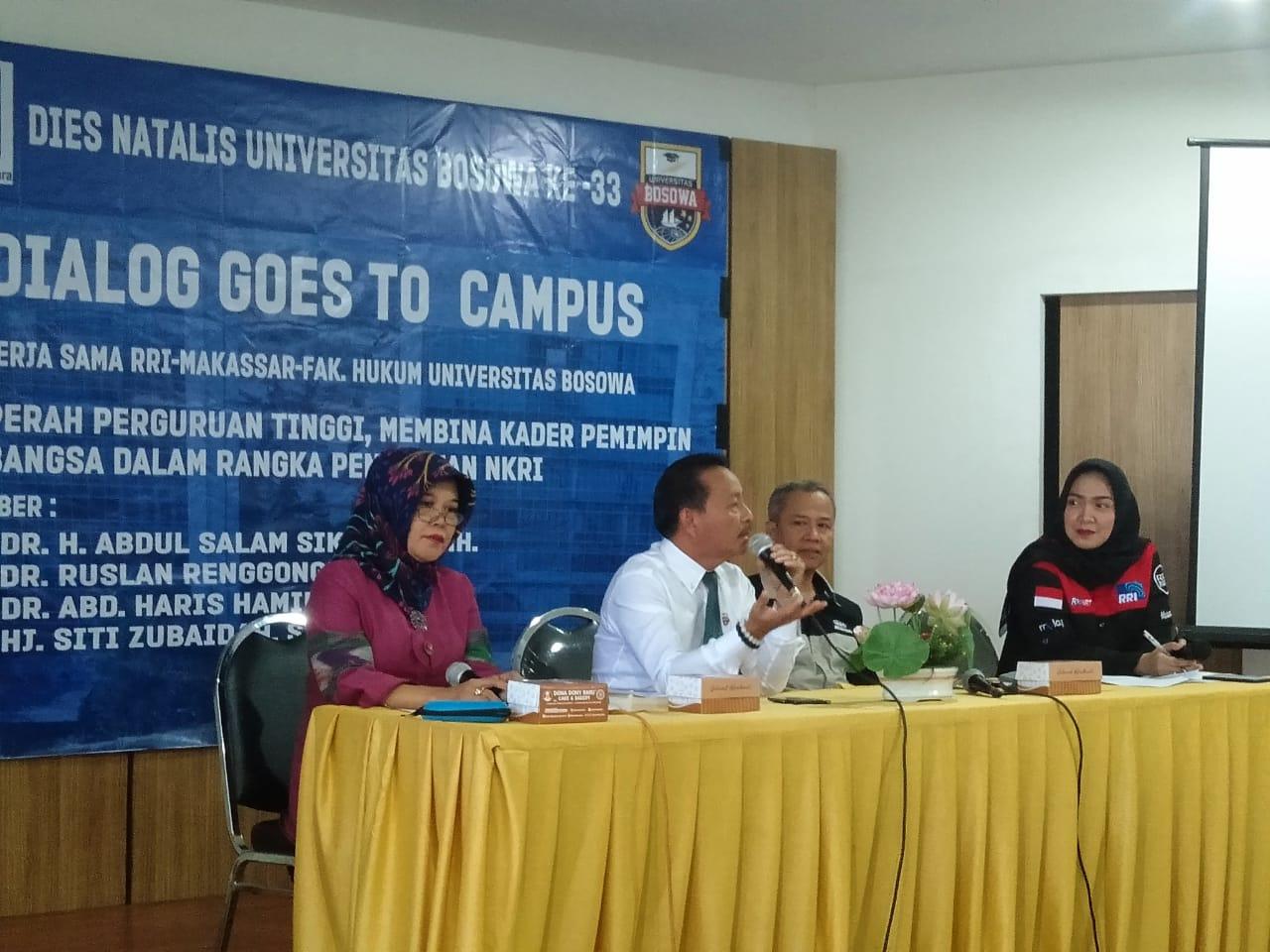 FH Unibos Bahas Peran Perguruan Tinggi Dalam Penguatan NKRI