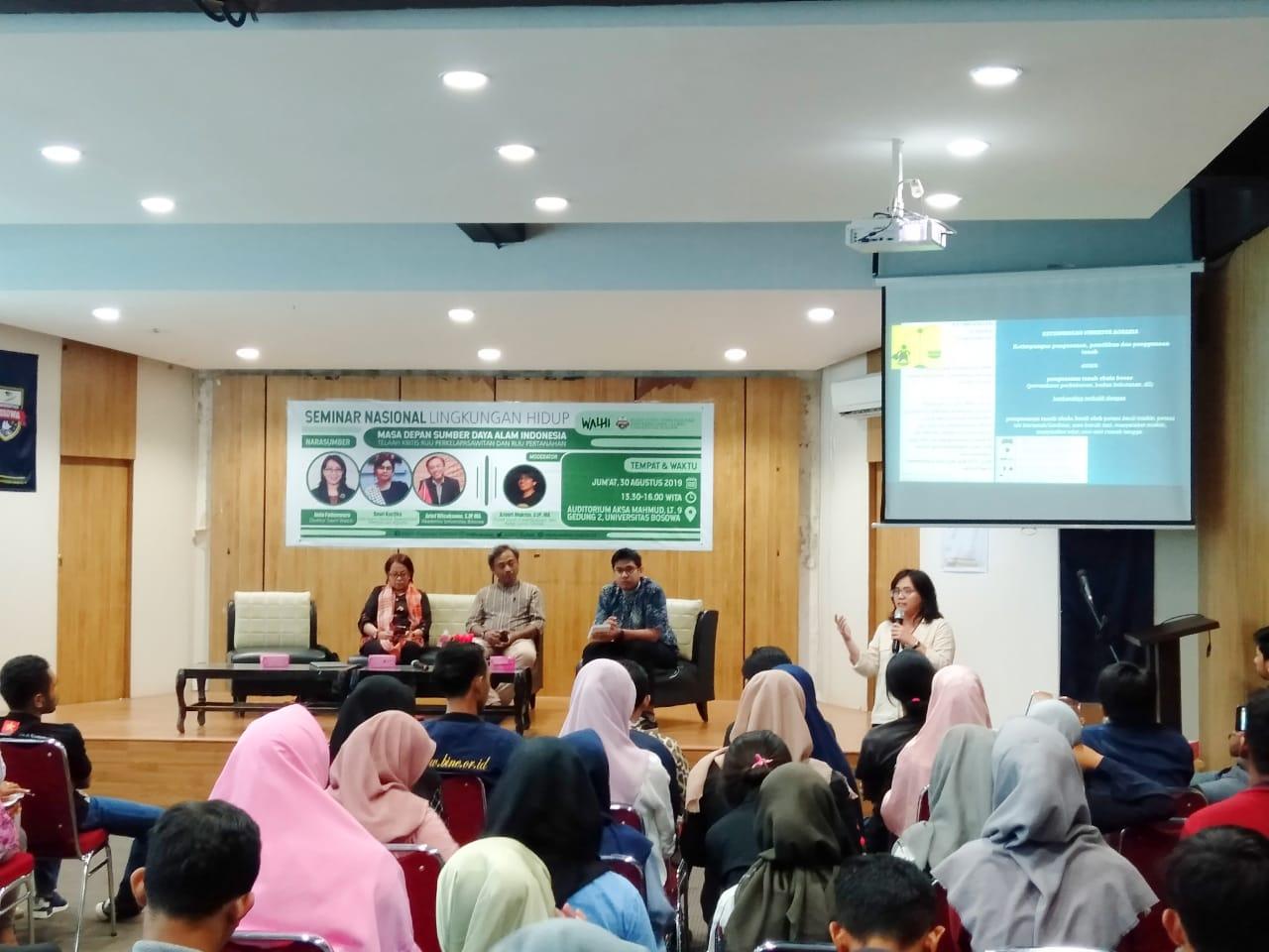 Pusat Studi Desentralisasi dan Kerja Sama Global Fisipol Unibos Bahas Lingkungan Hidup
