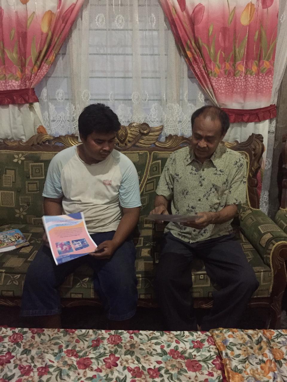 "Dosen Unibos Kembangkan Inovasi Makanan Khas ""Poteng"" di Kabupaten Takalar"