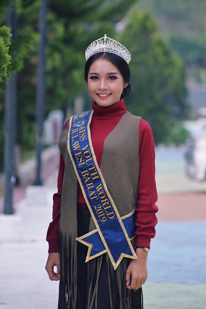 Mahasiswi FT Unibos Raih Juara II Miss Youth World Indonesia 2019