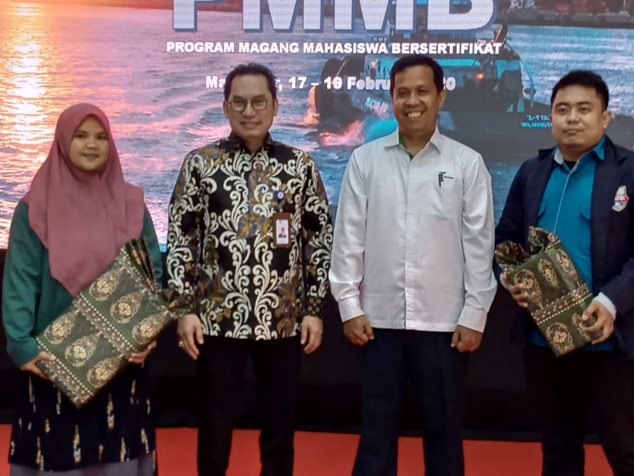 MAHASISWA FT UNIBOS MENJADI TERBAIK KE-DUA DALAM PROGRAM MAGANG BUMN DI PELINDO IV